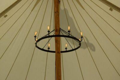 Circular Chandelier - Pole Marquee
