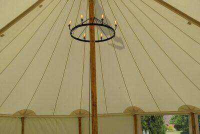 Circular Chandelier - Pole Marquees