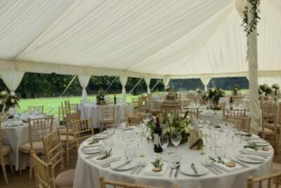 Traditional Baytex Marquee - Lined