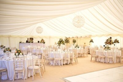 15m Frame Marquee (lined)