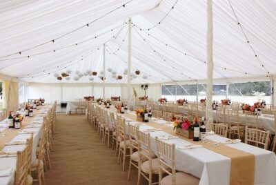traditional-marquee-with-trestle-tables-and-festoon-lighting-1-2016