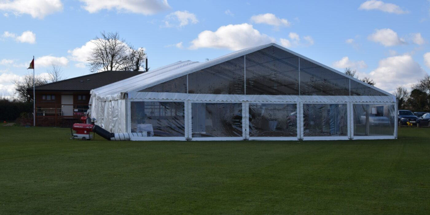 Clear Gable End and Heaters
