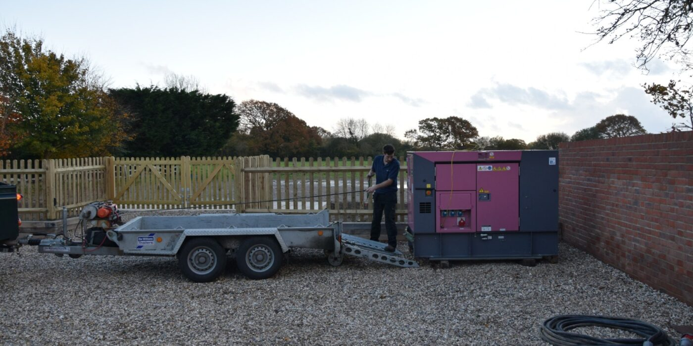 Generator and trailer