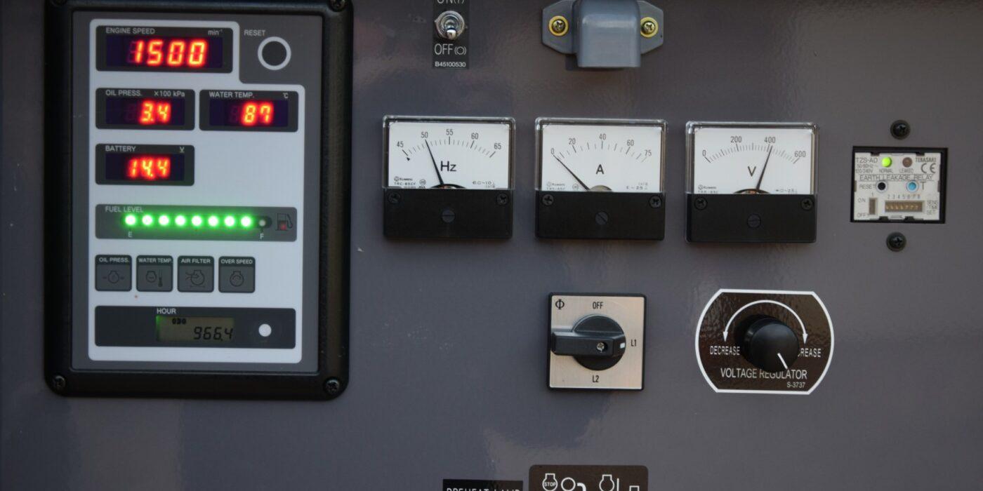 Generator display panel