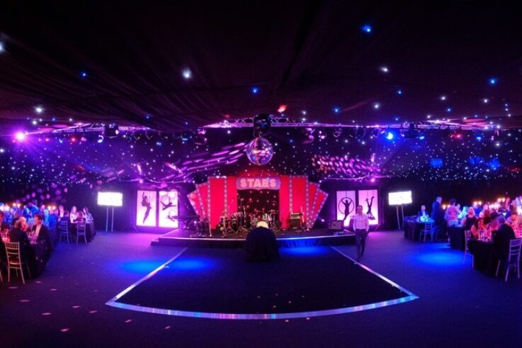 Corporate Event - Frame marquee starlight