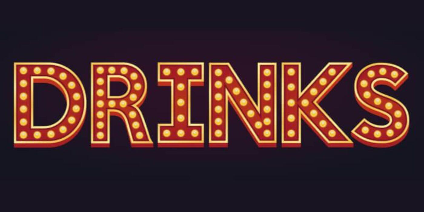 drinks light banner