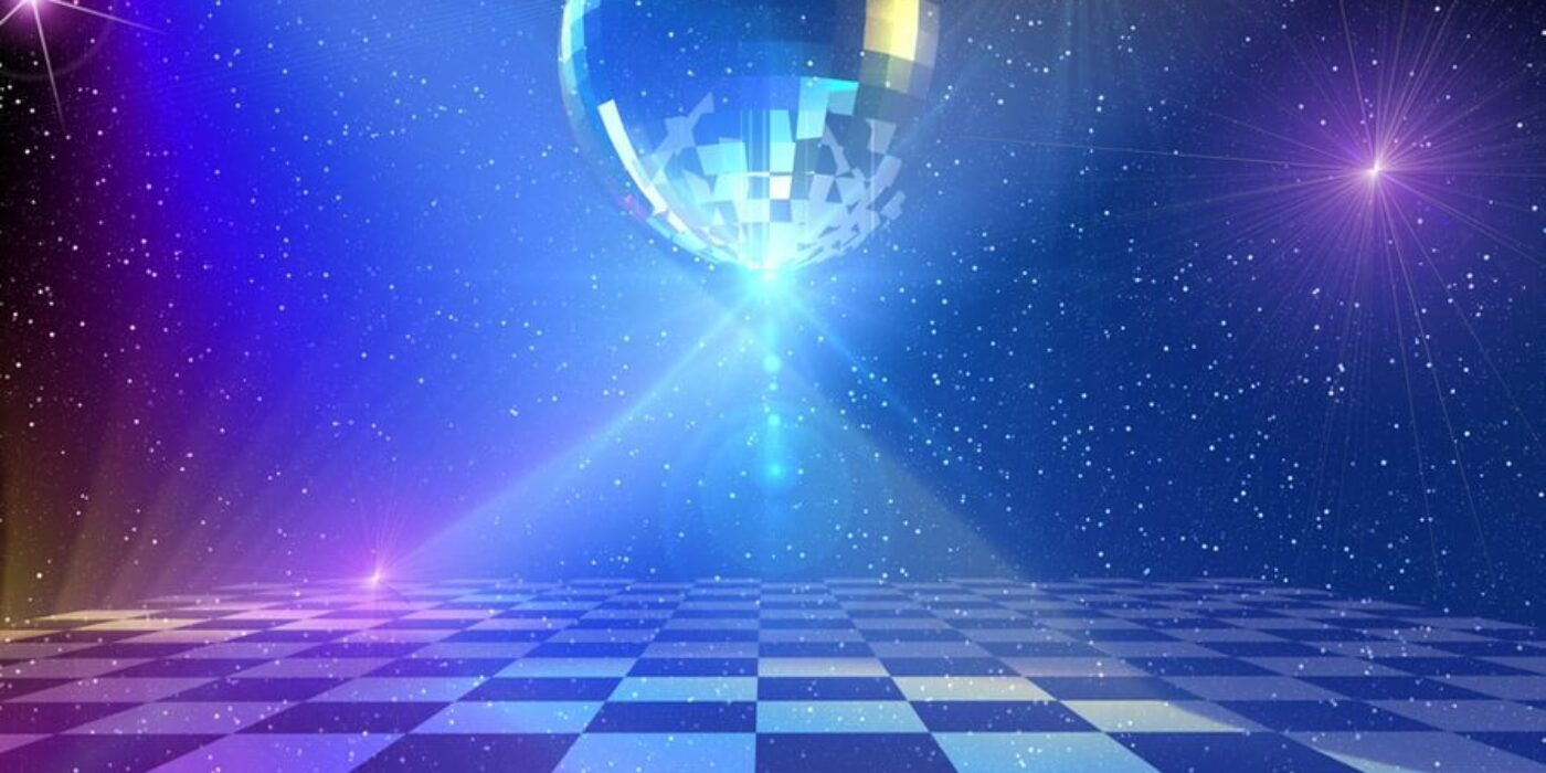 dance floor bw