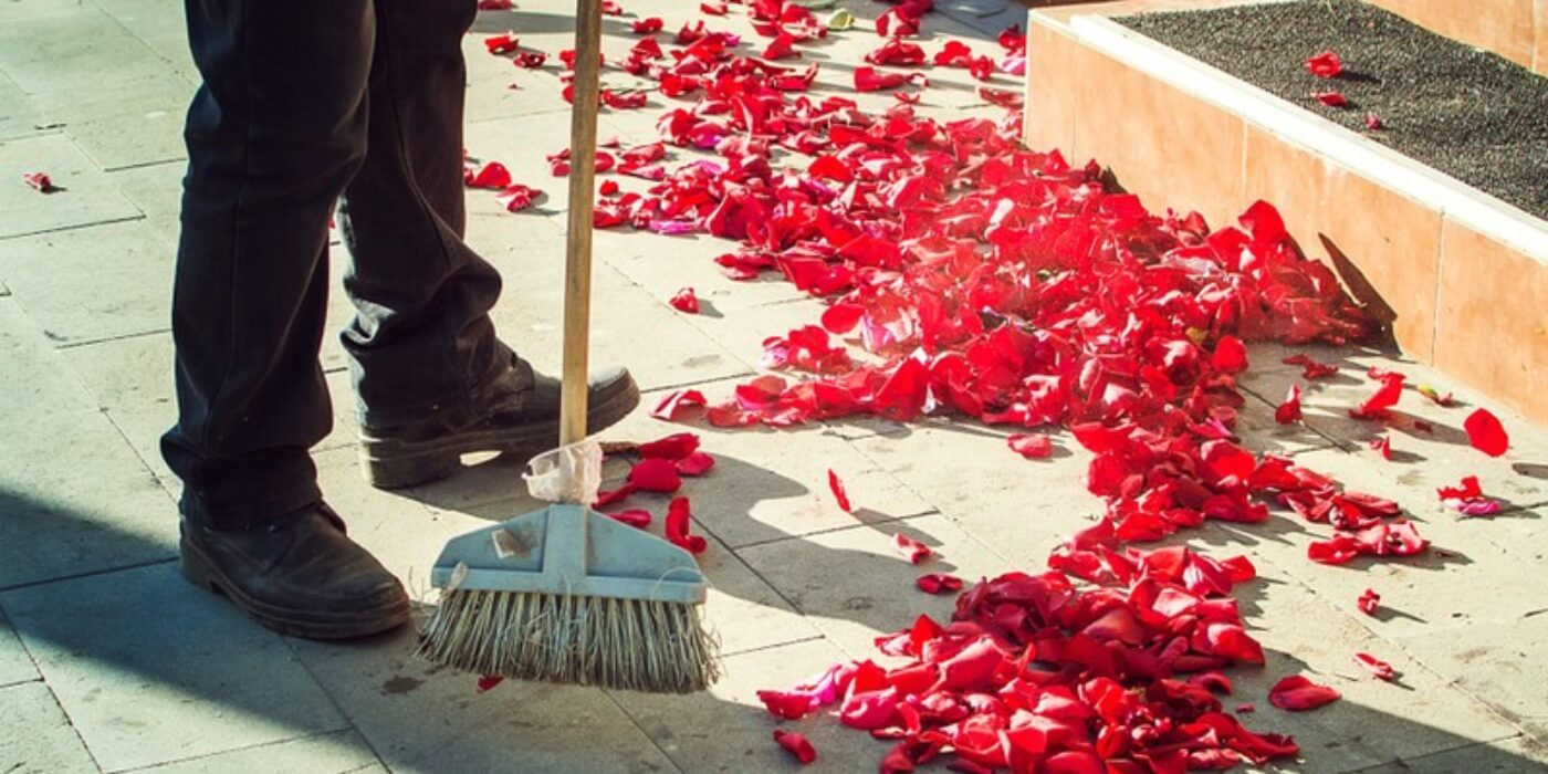 wedding-cleanup